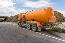 Tank Truck To Transport Water ...