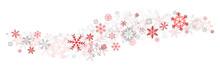 Red Snowflakes Decor