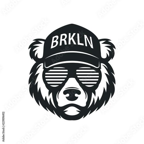 Tela Cool bear in sunglasses