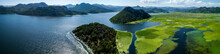 Aerial Panoramic View Of The B...