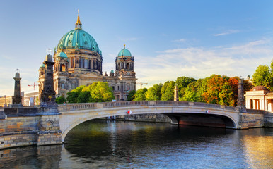 Fototapeta Berlin cathedral, Berliner Dom