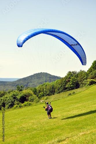Paragliding um Bad Staffelstein
