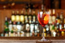 Aperol Spritz On The Bar