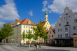 Germany, Landshut, Ursiline monastery and Church of St Joseph