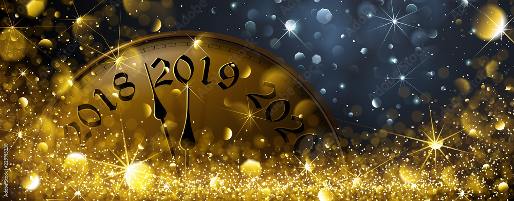 Fototapety, obrazy: New Year s Eve 2019