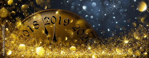 New Year s Eve 2019 Canvas Print