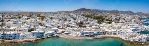 Photo Stands Egypt Panoramablick auf das idyllische Fischerdorf Naousa auf der Insel Paros, Kykladen, Griechenland