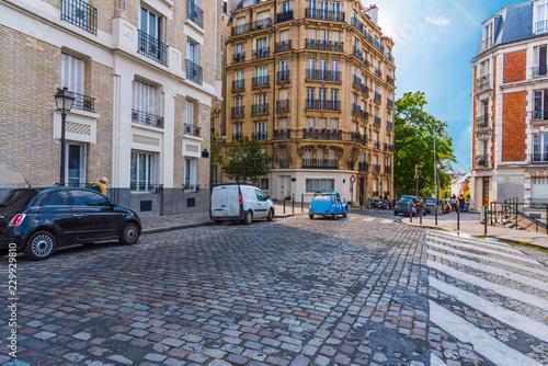 Photo  Antique Saint Denis street in Paris
