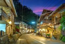 Maekampong Rural Village Of Chiang Mai In Thailand. Maekampong Village Tourism Culture Of Thailand.