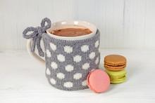 Hot Chocolate Drink And Polka ...