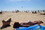 Fototapeta Fototapety z morzem do Twojej sypialni - Opalanie
