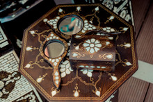 Example Of Mother Of Pearl Inlays On Mirrors