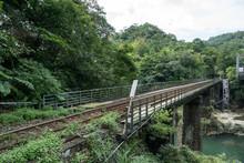 Pingxi Railway Line In The Mou...