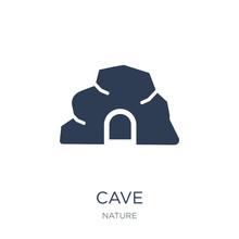 Cave Icon. Trendy Flat Vector ...