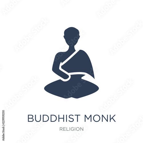 Obraz na płótnie Buddhist monk icon