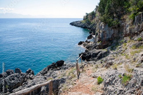 A fascinating stretch of coast along the Cilento's littoral, Italy
