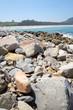 Küste Stand Steine Felsen