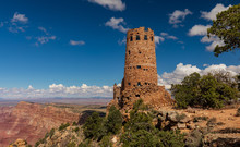 The Watch Tower Overlooking The Grand Canyon