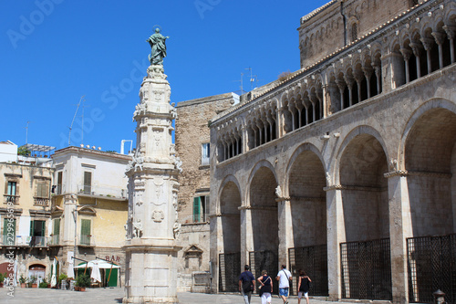 Cathedral of Bitonto Canvas Print