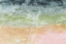 Thulite Mineral Colors, Closeup