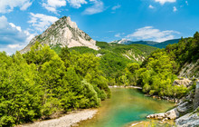 The Verdon, A River In Provence, France