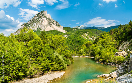Poster Europese Plekken The Verdon, a river in Provence, France