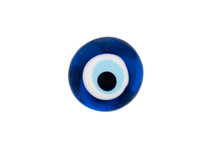 Solated Turkish Evil Eye Amulet On White Background,