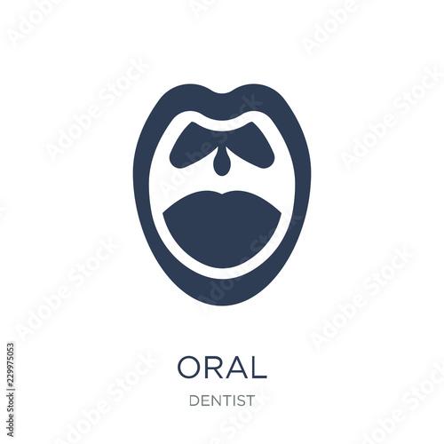 Fotografie, Obraz  Oral icon