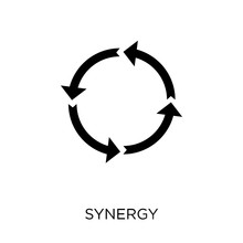 Synergy Icon. Synergy Symbol Design From Geometry Collection.