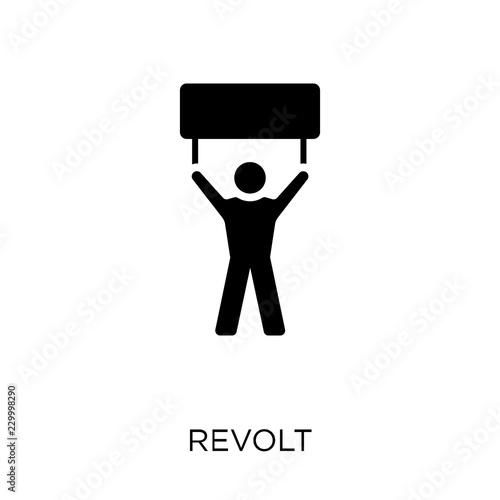 Stampa su Tela Revolt icon