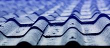 Rain Drop On Old Roof.