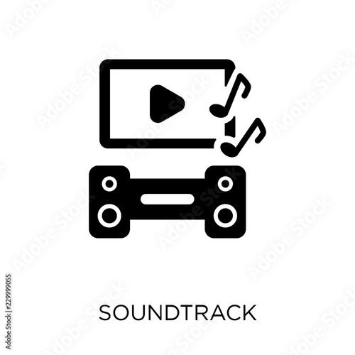 Photo  soundtrack icon. soundtrack symbol design from Cinema collection.