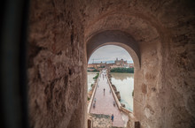 Cordoba Bridge And Mosque From...