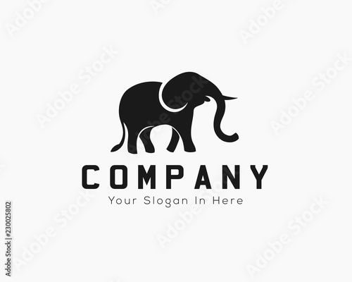 8d880b8a6 Walking elephant logo design inspiration - Buy this stock vector and ...