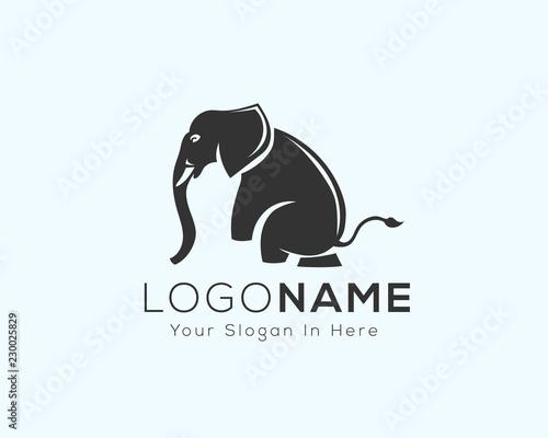 af603fc65 performance Sitting elephant logo design inspiration - Buy this ...