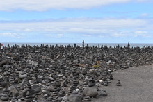 Stacked Stone Figures On The B...