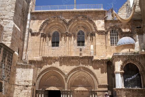 Fotografie, Obraz  The Church of the Holy Sepulchre, Jerusalem, Holy Land
