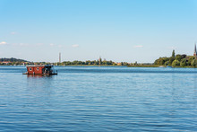 Houseboat On The River Havel S...