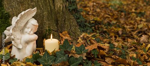 Photo Stands Cemetery Die letzte Ruhestätte in der freien Natur