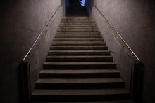 Stairs. Subway Staircase Old I...