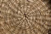 Wicker Tree Circular Texture