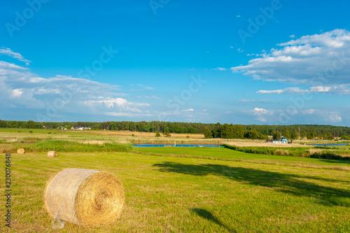 Fotobehang Landschap Landscape in Baabe-Moritzdorf
