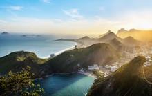 Aerial View Of Rio De Janeiro ...