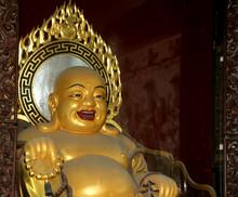 Buddhist Temple. Statue Of Bud...