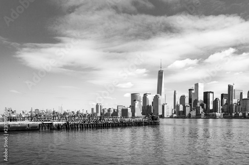In de dag New York City Manhattan Skyline March 2016