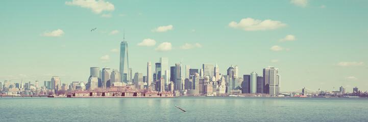 New York Panoramic Skyline
