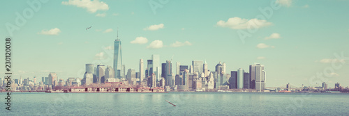 Foto op Aluminium New York City New York Panoramic Skyline