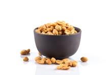 Peanut Nuts Salt In Bowl