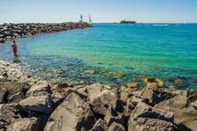 Cap D'Agde/bord De Mer Avec Di...