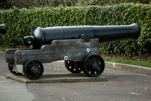 Old Cannon From WWII